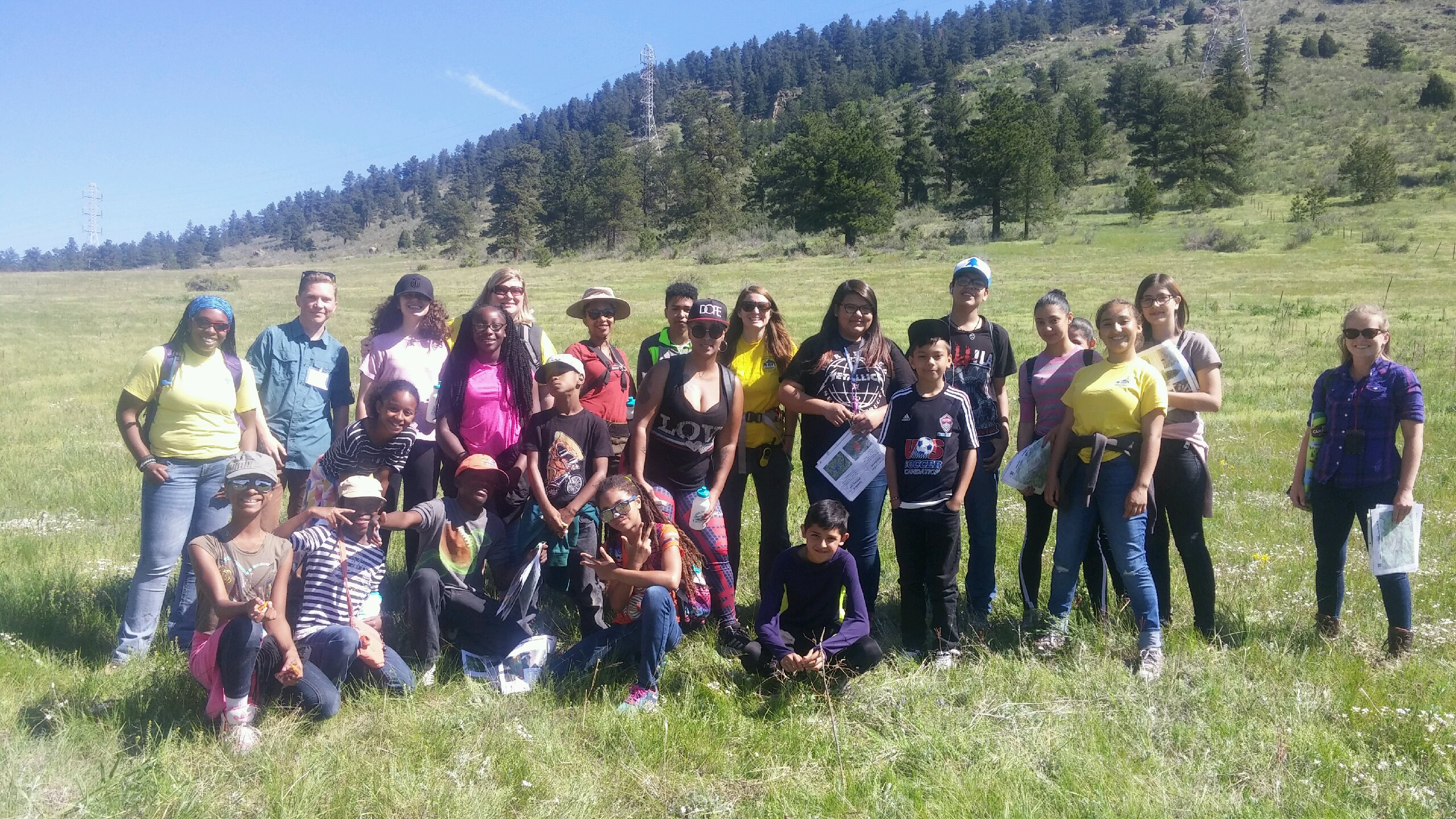 Colorado Connecting Youth Hikes