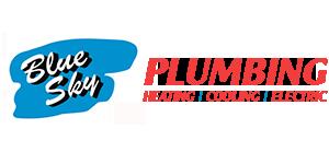 Blue Sky Plumbing Logo